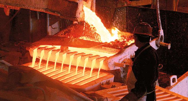 Gran minería del cobre triplica pérdidas