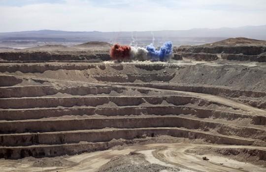 Bajo precio del cobre ha provocado importantes pérdidas a Sierra Gorda SCM