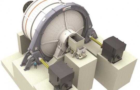 Metso lanza su nuevo sistema de accionamiento de molino QdX4™
