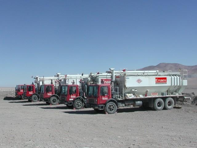 Enaex lideró categoría de empresas de servicios para la minería