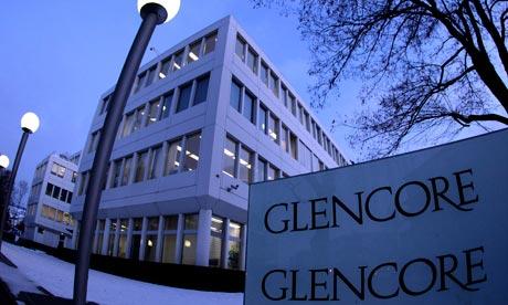 Inversionistas ofertan por mina de Glencore en Chile