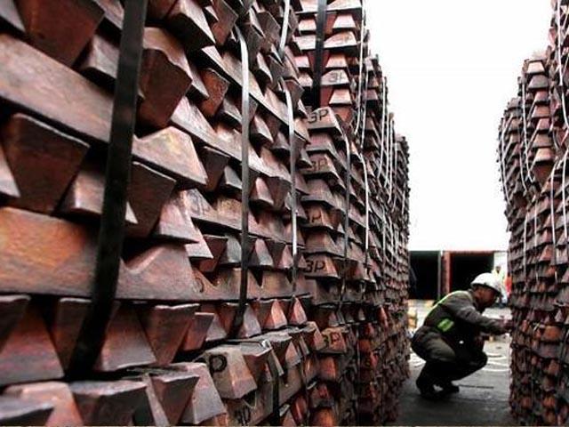 Precio del cobre desciende nuevamente bajo los US$2