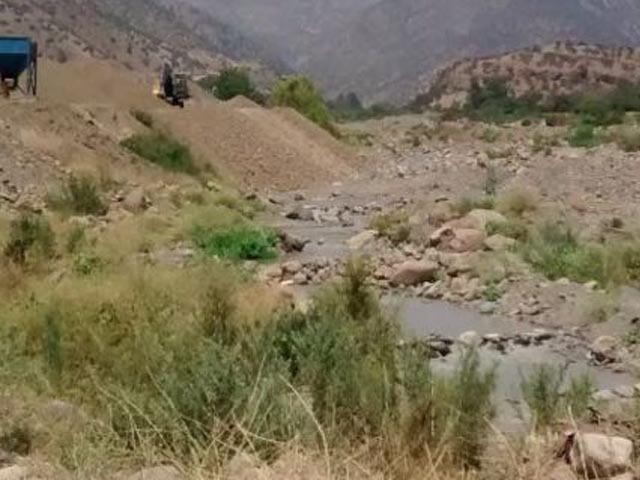 PDI tomará muestras en río Colina por derrame