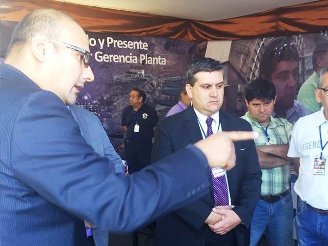 Rancagua: Inauguran primera feria Exposur sobre seguridad minera