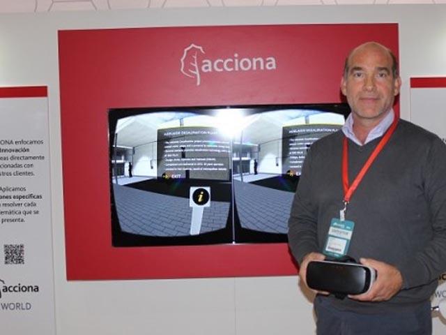 Acciona Chile muestra obras que realiza en el mundo a través de tecnologías virtuales