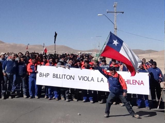 Bonos por término de conflicto en minería caen 75%