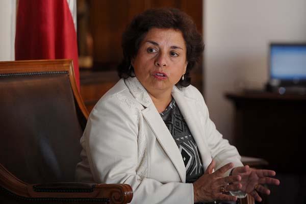 Ministra Williams resaltó la importancia de incrementar la relación bilateral minera con Perú