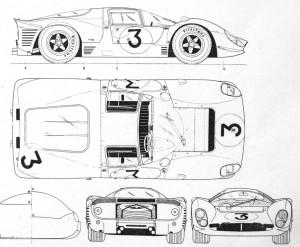 Ferrari 330 P4 und 412 P