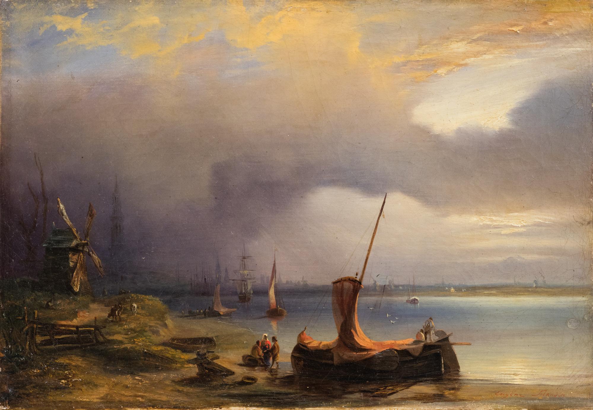 Eugne Napolon Flandin Napoli 1803  Parigi 1876