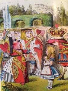 Alice in Wonderland queen