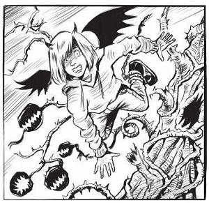 Devil Diary illustration2