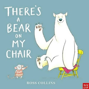 bear on chair