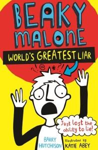 Beaky Malone – World's Greatest Liar - Jacket