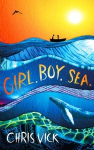 girl boy sea