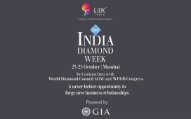 GJEPC to organize 2nd edition of India Diamond Week at Mumbai in October