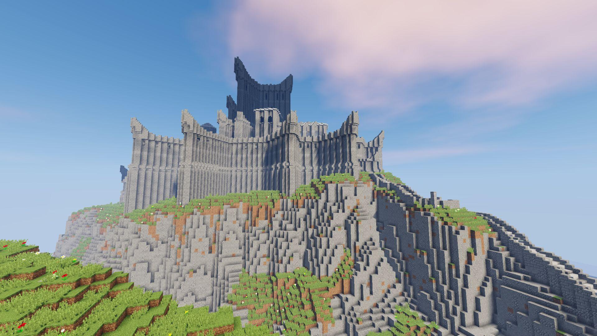 Dragonstone map  Game of Thrones legendary castle