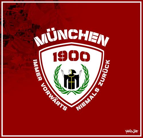 Immer vorwärts München Motiv