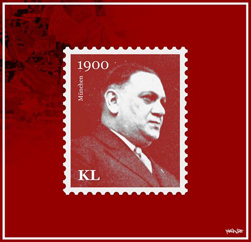 Kurt Landauer Motiv