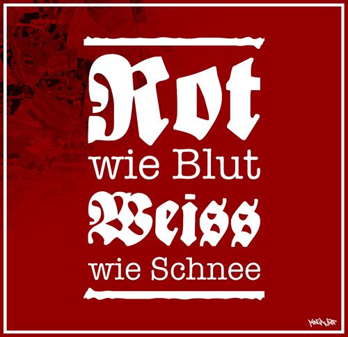 Rot wie Blut und weiß wie Schnee Motiv