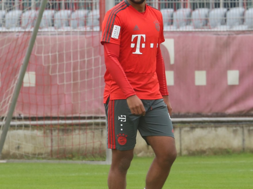 Gnabry Training
