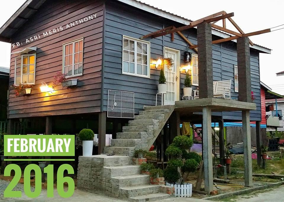 2 Tahun Untuk Transform Rumah Kampung Ke Shabby