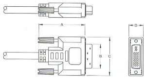 Hdmi Cable Connector Dimensions, Hdmi, Free Engine Image