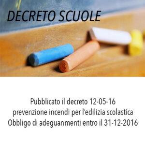 Decreto scuola