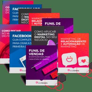 Biblioteca de Marketing Digital, ebooks, infograficos, webmminars