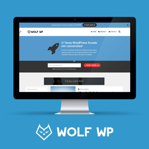 Tema WordPress Wolf
