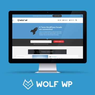 Tema WordPress Wolf
