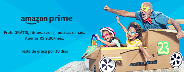 Amazon Prime 30 dias gratis