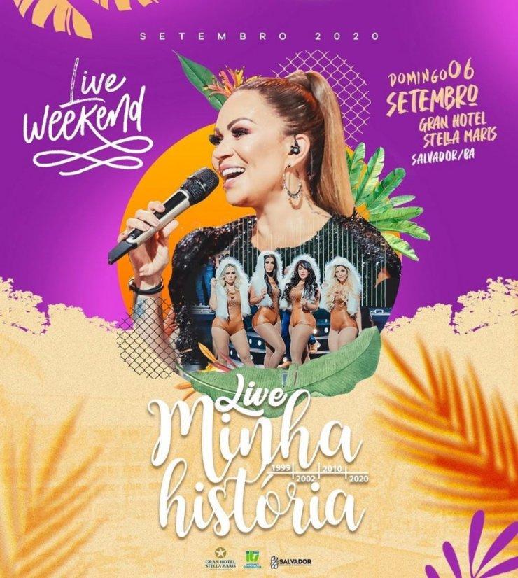 LIVE DE SOLANGE ALMEIDA - Minha Salvador