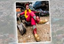 Loi Lima: Rio-pardense ganha a vida com a arte da palhaçaria em São Paulo