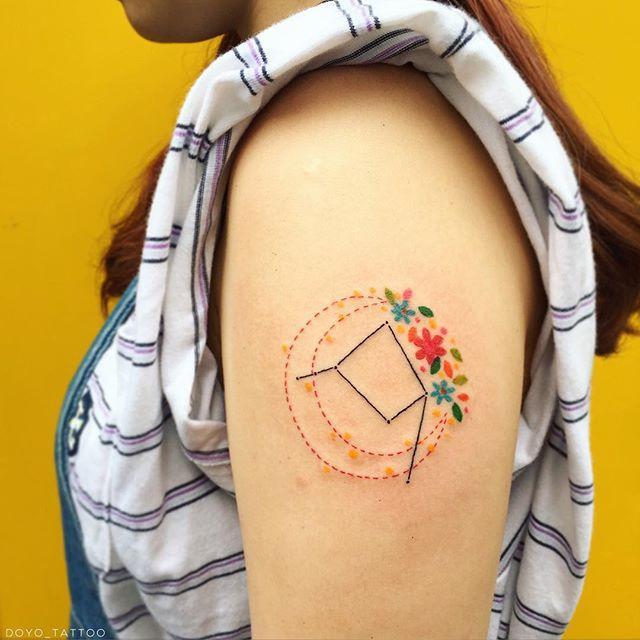 Tatuagens Femininas Delicadas E Seus Significados Pequenas