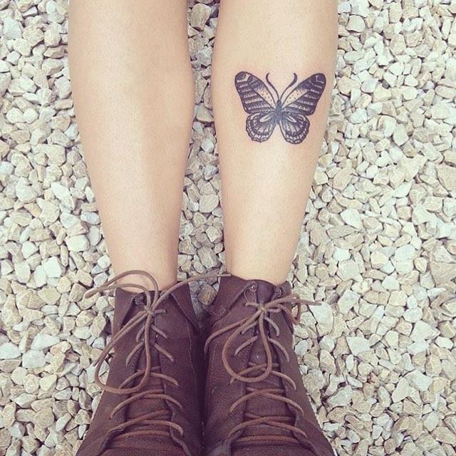 Tatuagens Femininas Na Perna E Seus Significados