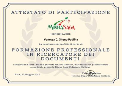 Certificado-300x212 Amadurecendo a ideia de me mudar para a Itália / Trabalho