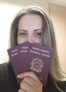 20180813_140119 Passaporte Italiano e Codice fiscale