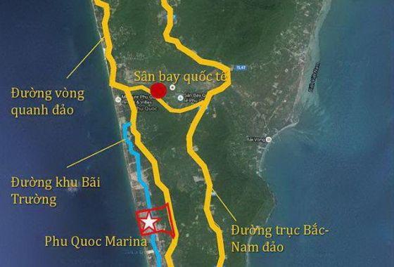 dự án intercontinental phú quốc tọa lạc tại Bãi Trường Phú Quốc