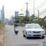 đường Lương Định Của mở rộng đang được triển khai từ giữa tháng 6