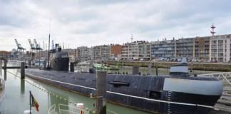 sous-marin russe port de Zeebrugge