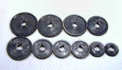 Mini Lathe Change Gears