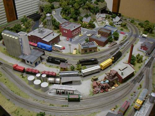 small resolution of n gauge layout