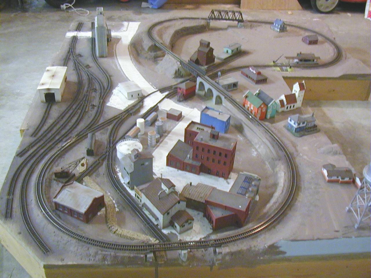 hight resolution of n gauge layout