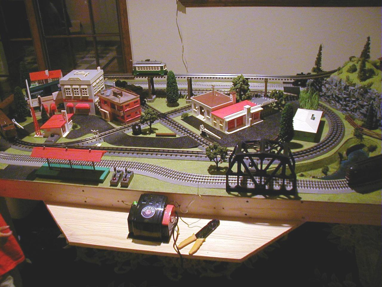 hight resolution of o gauge layout
