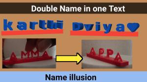 3d illusion gift customize keychain