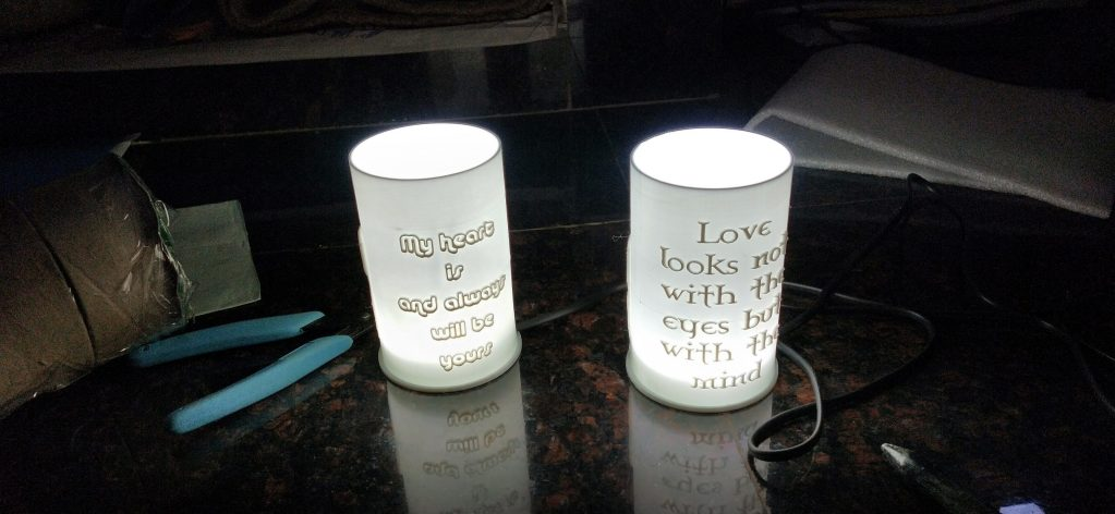 PERSONLIZED GIFTS CYLINDER LAMP 3D GIFTS
