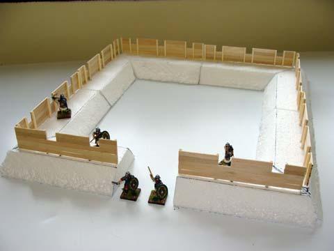 Fuerte romano en 28mm