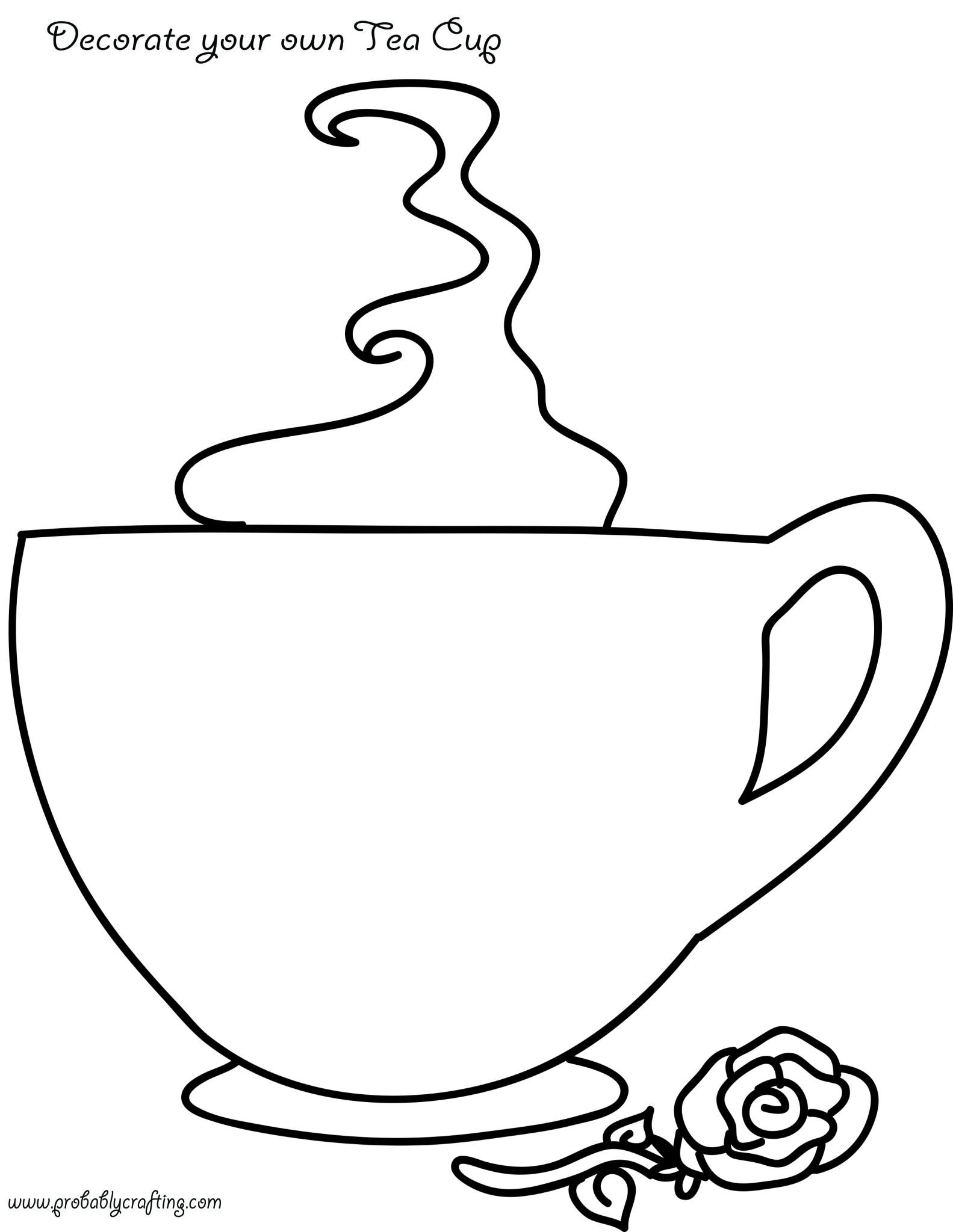 Tea Time Printables