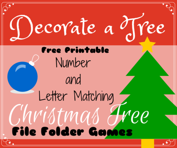 Free Christmas Preschool Activity