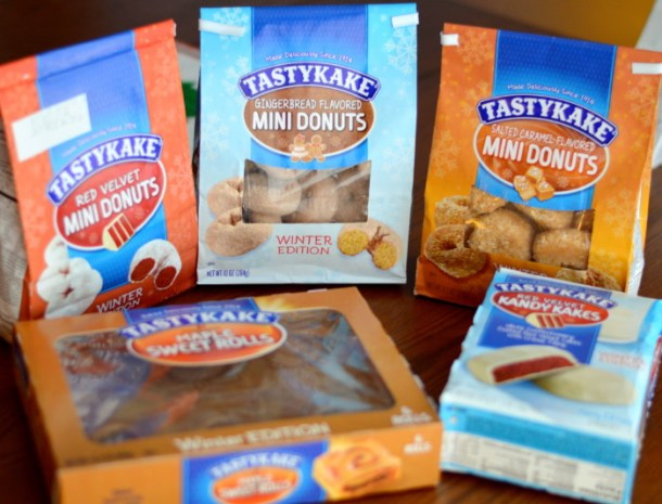 TASTYKAKE Winter Edition Flavors Holiday Gift Guide Review